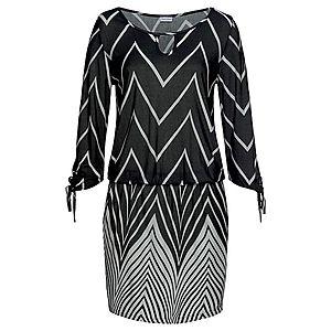 LASCANA Plážové šaty biela / čierna vyobraziť