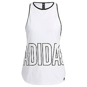 ADIDAS PERFORMANCE Športový top čierna / biela vyobraziť