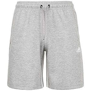 ADIDAS PERFORMANCE Športové nohavice biela / sivá vyobraziť