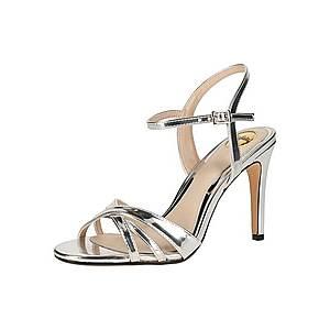 BUFFALO Remienkové sandále strieborná vyobraziť