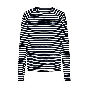 TOM TAILOR Tričko námornícka modrá / biela vyobraziť