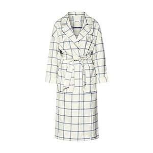 EDITED Prechodný kabát 'Sian' biela / modré vyobraziť