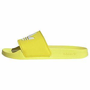 ADIDAS ORIGINALS Šľapky žlté / biela vyobraziť