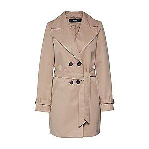 VERO MODA Prechodný kabát béžová vyobraziť