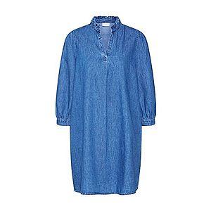VILA Šaty 'VITYKA 3/4 SHORT DRESS' modrá vyobraziť