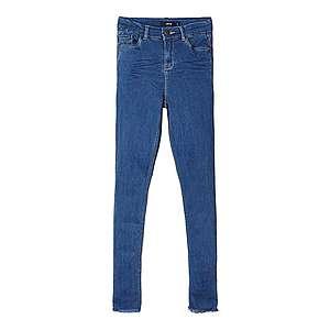 NAME IT Džínsy 'High Waist Skinny Fit Ankle' modrá vyobraziť