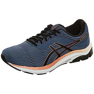 ASICS Bežecká obuv čierna / modré / oranžová vyobraziť