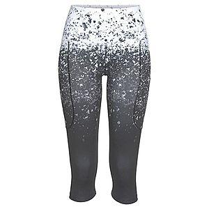 LASCANA ACTIVE Športové nohavice biela / čierna vyobraziť