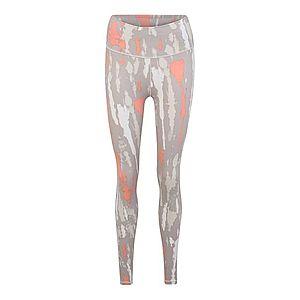 ADIDAS PERFORMANCE Športové nohavice sivá / koralová / béžová / biela vyobraziť
