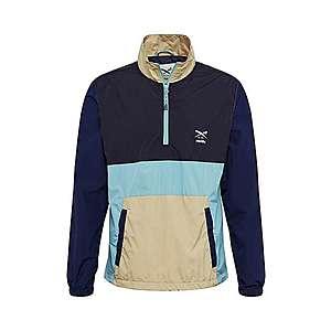 Iriedaily Funkčná bunda 'Resulaner' čierna / béžová / modrá / azúrová vyobraziť
