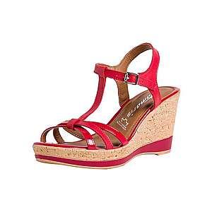 TAMARIS Remienkové sandále červená vyobraziť