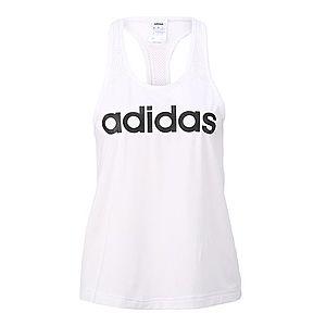 ADIDAS PERFORMANCE Športový top biela / čierna vyobraziť