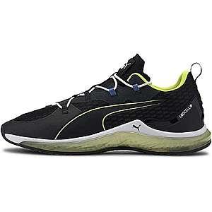 PUMA Bežecká obuv 'Hydra' biela / limetová / čierna vyobraziť