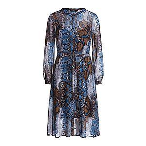 SET Košeľové šaty modrá vyobraziť