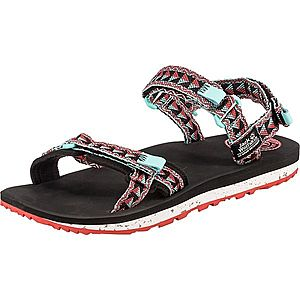 JACK WOLFSKIN Trekingové sandále 'Outfresch' tyrkysová / čierna / červená vyobraziť