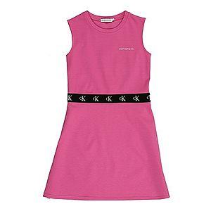 Calvin Klein Jeans Šaty čierna / ružová vyobraziť