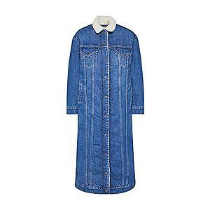 LEVI'S Zimný kabát 'SHERPA' modré / biela vyobraziť