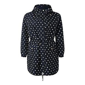 Junarose Prechodný kabát 'NEW KLINK' biela / čierna vyobraziť