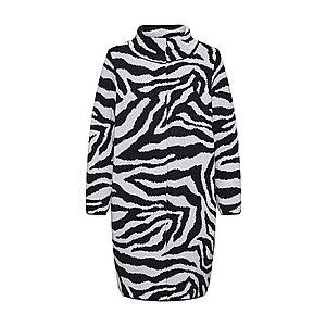 monari Prechodný kabát biela / čierna vyobraziť