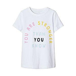 NAME IT Tričko biela / žlté / ružová / azúrová / námornícka modrá vyobraziť