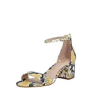 ALDO Remienkové sandále 'VILLAROSA' žlté / béžová / hnedé vyobraziť