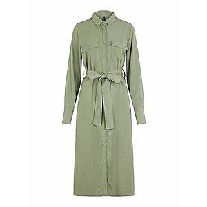 Y.A.S Košeľové šaty pastelovo zelená vyobraziť
