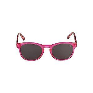 PUMA Slnečné okuliare 'PJ0023S KID ACETATE' fuksia / dymovo šedá vyobraziť