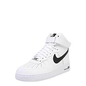 Nike Sportswear Nízke tenisky 'Air Force' biela / čierna vyobraziť