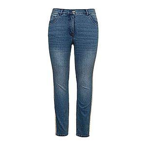 džínsovo modrá-zlatá vyobraziť