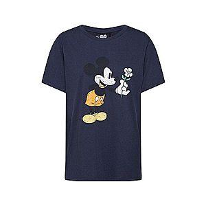 CATWALK JUNKIE Tričko 'Mickey Flower' modrá vyobraziť