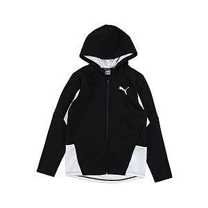 PUMA Športová bunda 'Active Sports Hooded Jacket DK B' čierna vyobraziť