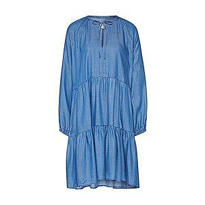 SECOND FEMALE Šaty modré vyobraziť