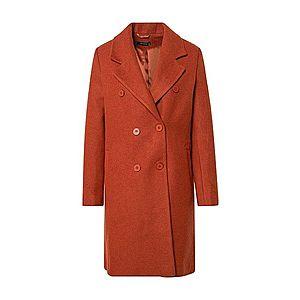 Trendyol Prechodný kabát oranžovo červená vyobraziť