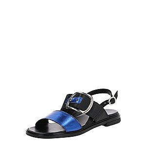MJUS Remienkové sandále 'GRAM' čierna / modré vyobraziť