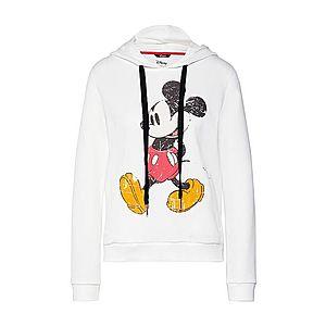 PRINCESS GOES HOLLYWOOD Mikina 'Disney mickey classic' biela vyobraziť