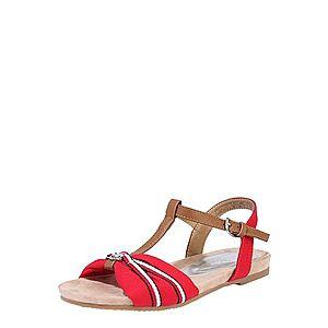 Hnedé dámske sandále Tom Tailor vyobraziť