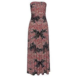 LASCANA Plážové šaty ružová / čierna / zmiešané farby vyobraziť