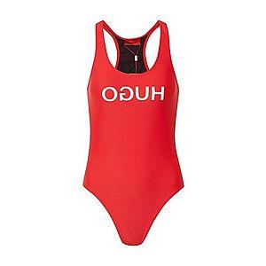 HUGO Jednodielne plavky 'Nikini' červené vyobraziť