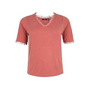 Vero Moda Curve Tričko 'JUDY' hrdzavo červená vyobraziť