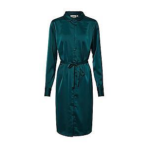 Another Label Košeľové šaty 'Peck' zelená vyobraziť