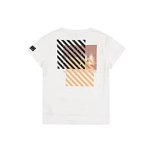 NAME IT Tričko žlté / biela / čierna vyobraziť