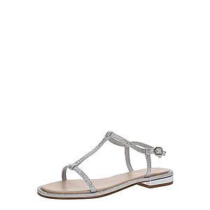 ALDO Remienkové sandále 'YBOIMMA' strieborná vyobraziť
