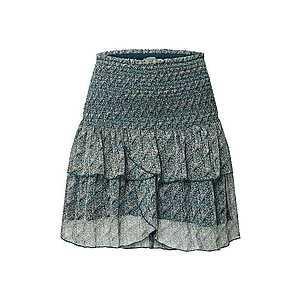 Neo Noir Sukňa 'Carin Feather Skirt' petrolejová vyobraziť