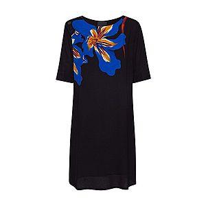 Desigual Letné šaty 'VEST PISTILO' oranžová / čierna / modrá vyobraziť