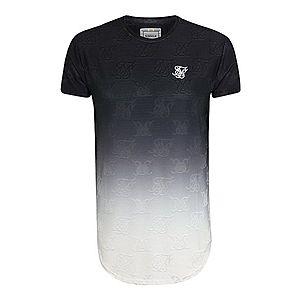 SikSilk Tričko čierna / biela vyobraziť