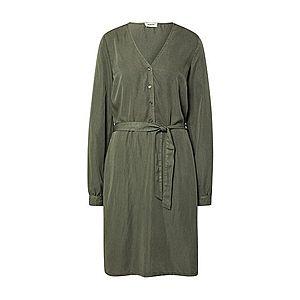 modström Košeľové šaty 'Bellevue' zelená vyobraziť