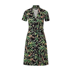 King Louie Šaty 'Emmy' zelená / zmiešané farby / čierna vyobraziť