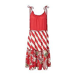 Femi Stories Letné šaty 'SALI' červené / zmiešané farby vyobraziť
