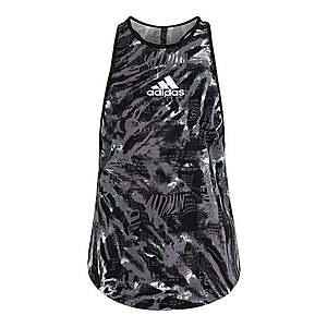 ADIDAS PERFORMANCE Športový top tmavošedá / biela / čierna / staroružová vyobraziť