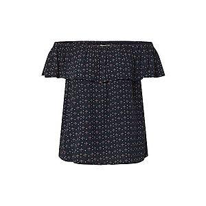 ICHI Tričko 'MARRAKECH' biela / tmavomodrá / ružová vyobraziť